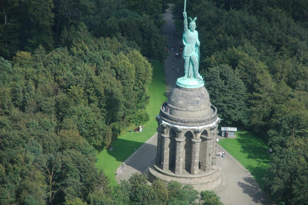 El monumento a Arminio - Hermannsdenkmal