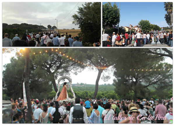 Momentos de la Romería de Aljaraque