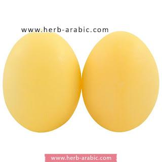 شكل صابونة البيضة بالكولاجين