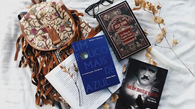 book haul, top livros, livros, books, livraria, vou lhe mostrar o medo, um pouco mais de azul, julio verne, os filhos do capitão grant, curitiba