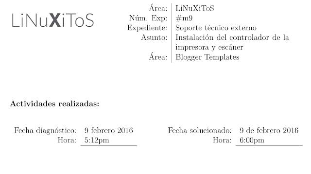 Formato de Oficio plantilla LaTeX