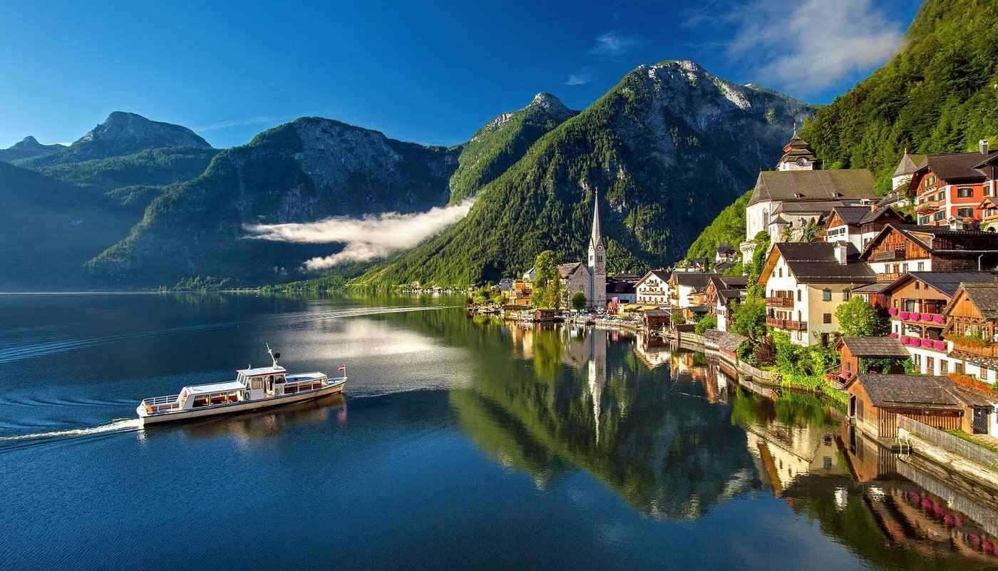 hallstatt, austria - 8 best places to visit in europe in spring
