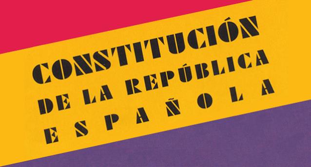 Constitución republicana 1931