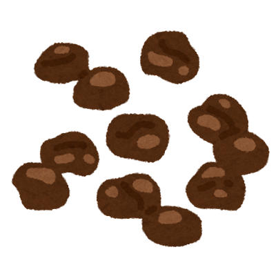 麦チョコのイラスト