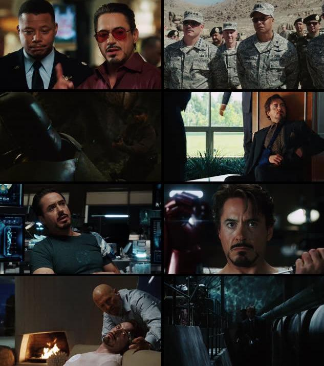 Iron Man 2008 Dual Audio Hindi 720p BRRip
