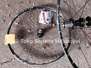 Wheelset Shimano Xtr M985