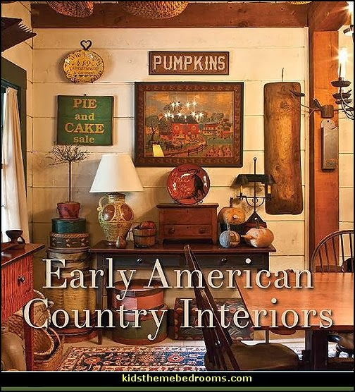 Early American Country Decor
