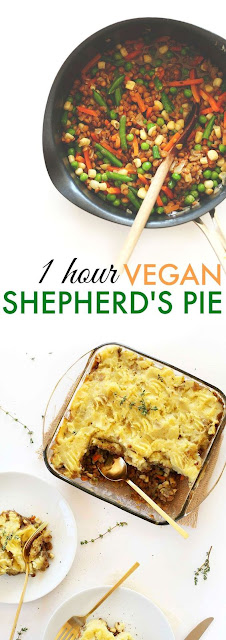THE PERFECT 1-HOUR VEGAN SHEPHERD'S PIE