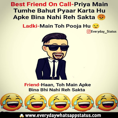 funny friendship quotes in hindi with images | Everyday Whatsapp Status | Unique 60+ Funnny Quotes in Hindi