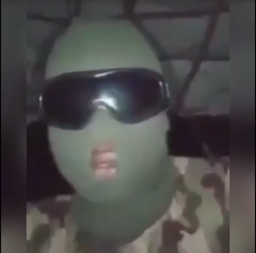 Brave Nigerian Soldier Warns His Colleagues Not To Shoot At Civilians (Watch Video)