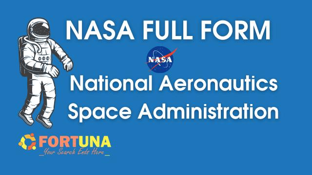 NASA Full Form
