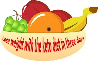Lose weight with the keto diet in three days 1