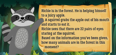 Figure: Rocko has a little riddle for you. Can you solve it?