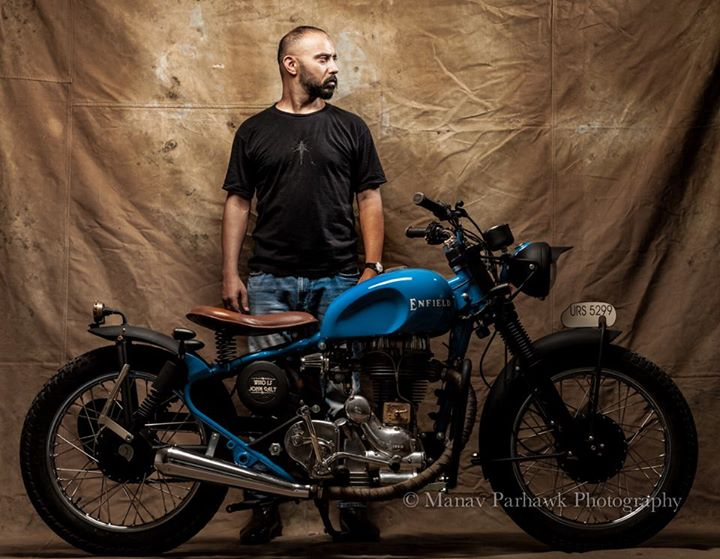 Custom RE from Old Delhi Motorcycles - ThrottleQuest