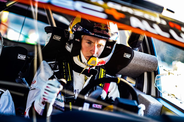 WRC Driver Elfyn Evans