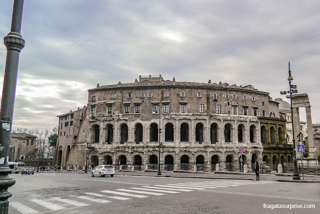 Roma, Itália - Teatro de Marcelo