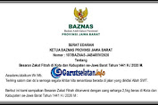 BAZNAS: Besaran Zakat Fitrah di Kabupaten-Kota Se-Jawa Barat 1441 H (2020 M)