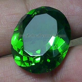 Batu Green Tektite + Memo - ZP 786