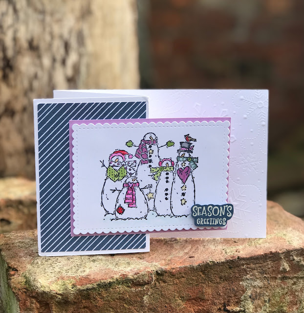 handmade christmas cards using stampin up products