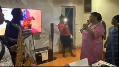 Wizkid Throws A Birthday Surprise For His Mum As She Thanks God