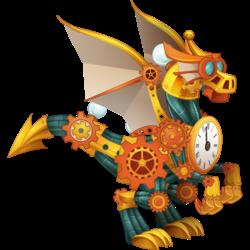 Dragon Voyage Temporel apparence jeune