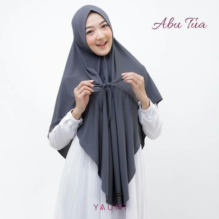 Yaumi Hijab Khimar Almira Abu Tua