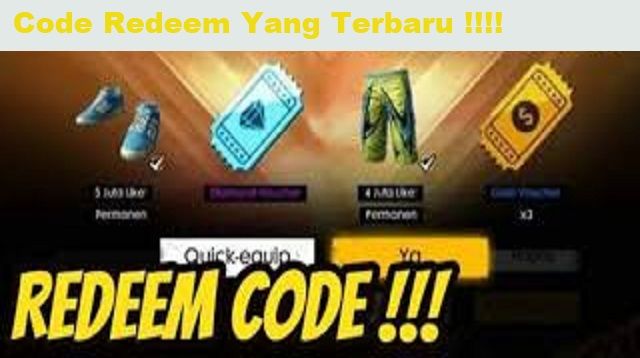 Code Redeem FF
