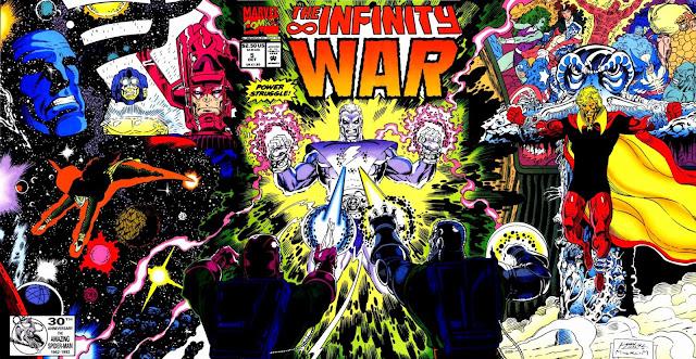 La Guerra del Infinito - Portada del Número 5