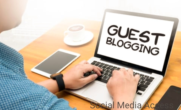 Try guest blogging