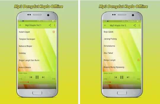 Aplikasi Mp3 Dangdut Koplo Offline