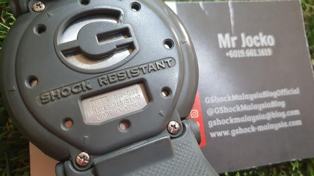 Save Vintage Kastem Jam GShock DW002 Menjadi DW6900