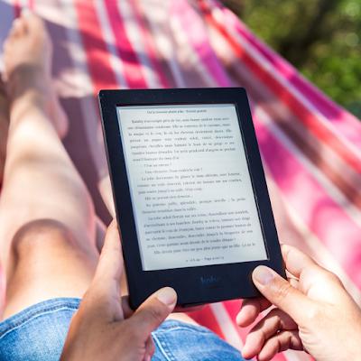 Read a book, ebook, manga, webtoon, or comic to wind down!