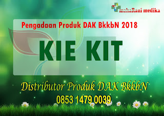 kie kit 2018, kie kit bkkbn 2018, produk bkkbn 2018, kie kit dak bkkbn 2018