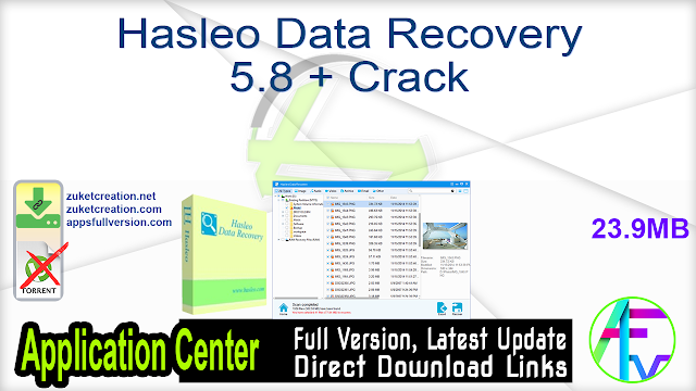 Hasleo Data Recovery 5.8 + Crack