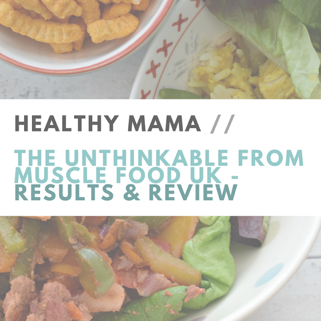 unthinkable muscle food review promo discount code