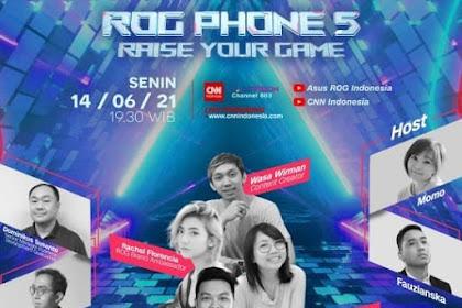 COMING SOON! ROG Phone 5 Series Hadir di Indonesia Tanggal 14 Juni