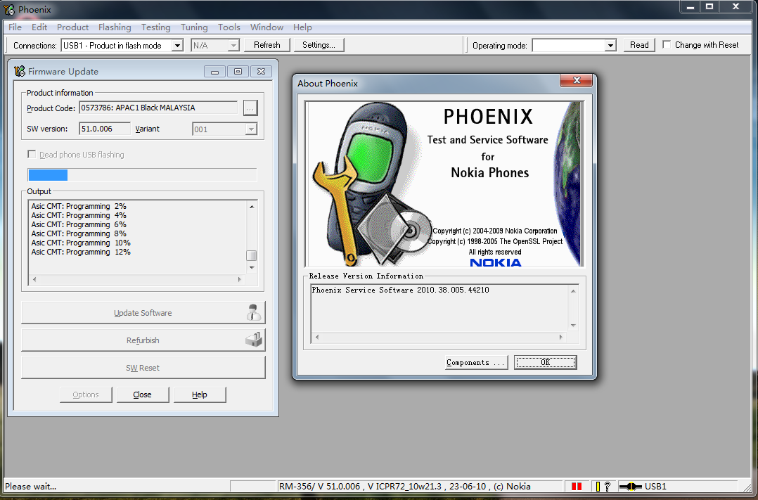 Free download phoenix service software cracked full version.