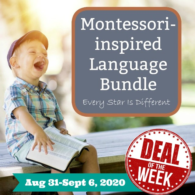 Deal of the Week: Montessori-inspired Language Bundle in Print