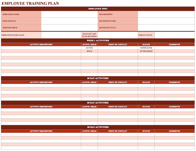 employee training schedule template in ms excel. Black Bedroom Furniture Sets. Home Design Ideas