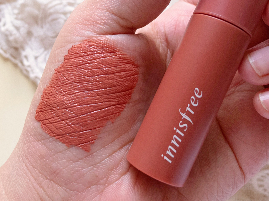Innisfree Vivid Cotton Ink 06 Faded Beige Tulip Review | chainyan.co
