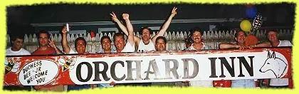 Orchard Inn sign