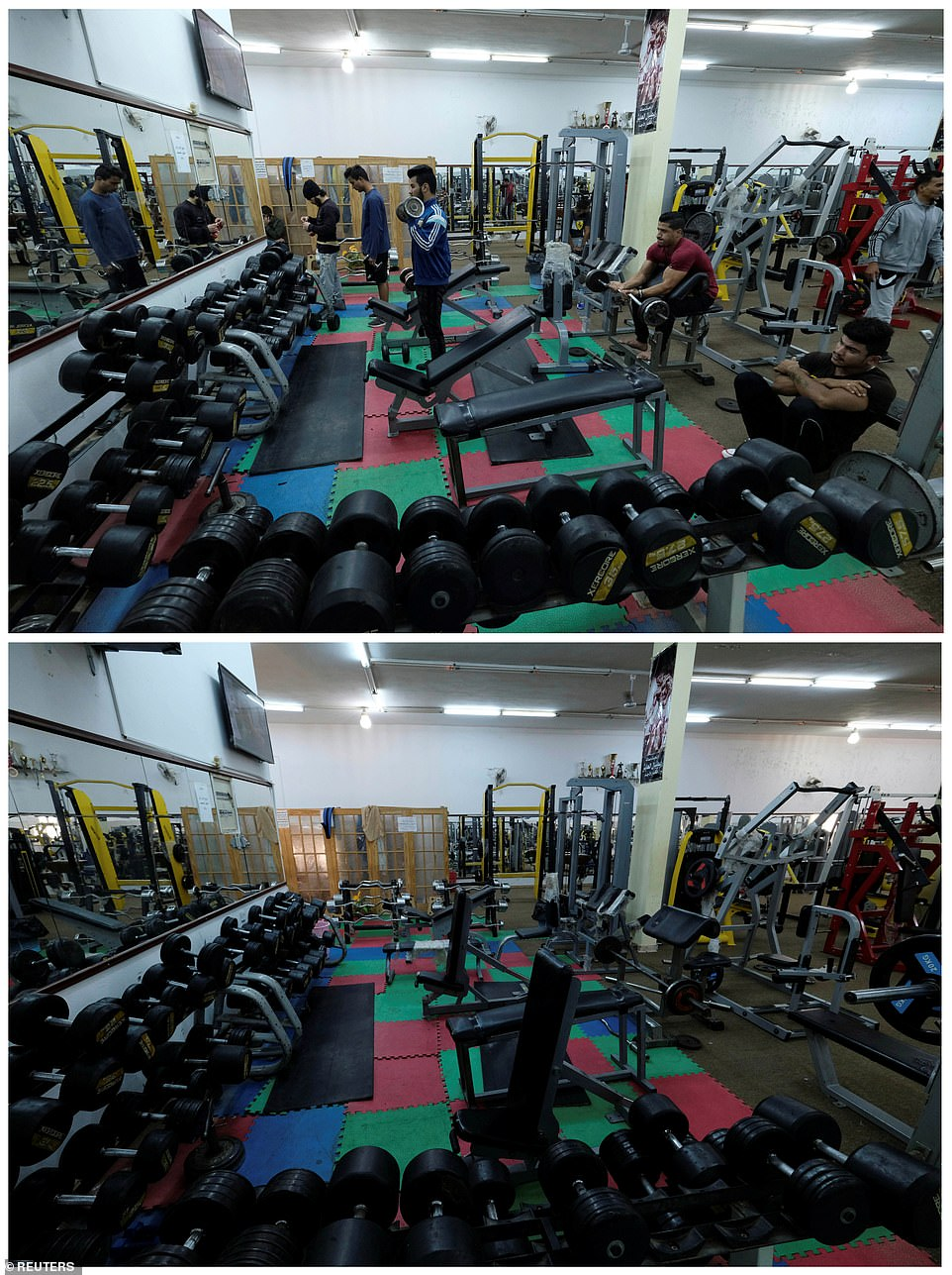 bodybuilding club in Benghazi, Libya