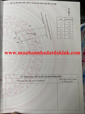 Bán đất Hẻm 181 Quang Trung P Tân Tiến BMT 1 tỷ 550