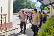 Kunjungan ke Selayar Bersama Gubernur, Kapolda Sulsel Sempatkan Tinjau Pos Operasi Ketupat Lipu 2020 Polres Selayar