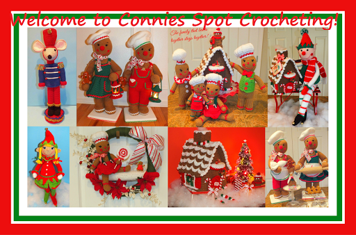 Shop Connie's Spot© & Connie Hughes Designs© Crochet Patterns on Ravelry!