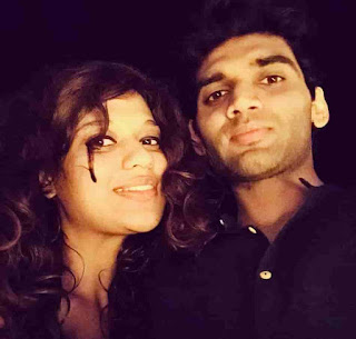 Salil Jamdar With His Wife