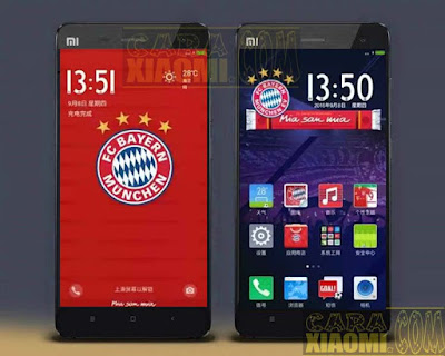 Kumpulan Tema MIUI Football Themes Mtz For Xiaomi Klub Munchen