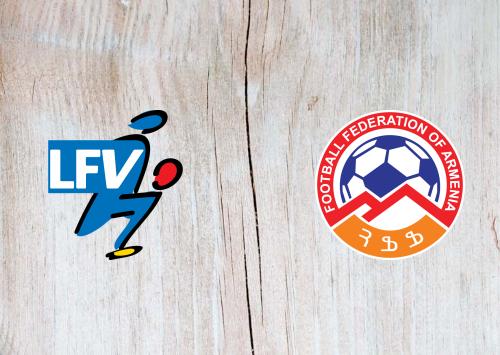 Liechtenstein vs Armenia -Highlights 25 March 2021