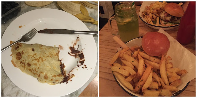 This Month I..., Ate, Honest Burgers, Shrove Tuesday, Pancakes, Nutella, Banana, Food, Blogger