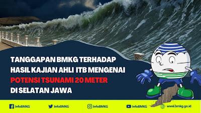 Ancaman Gempa-Tsunami Pantai Selatan Jawa, BMKG Minta Warga Tak Panik tapi Tetap Waspada